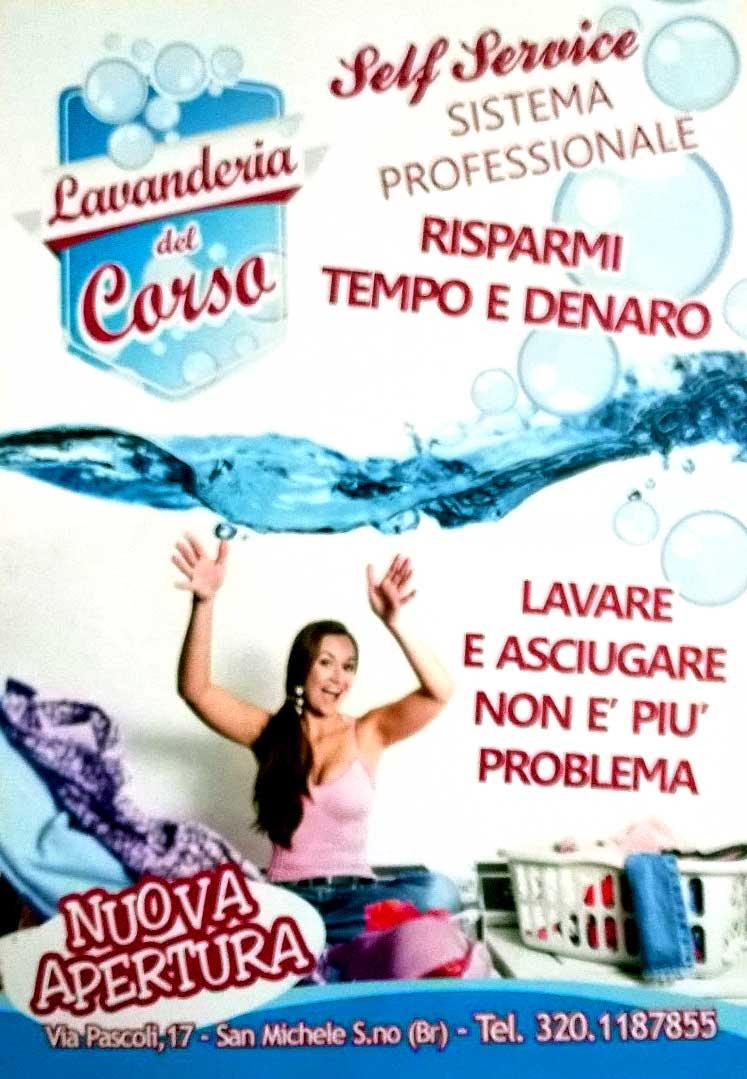Nuova apertura lavanderia self service a san michele for Lavanderia self service catania